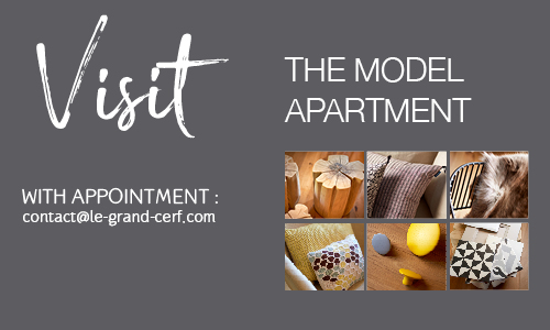 Visit the model apartment